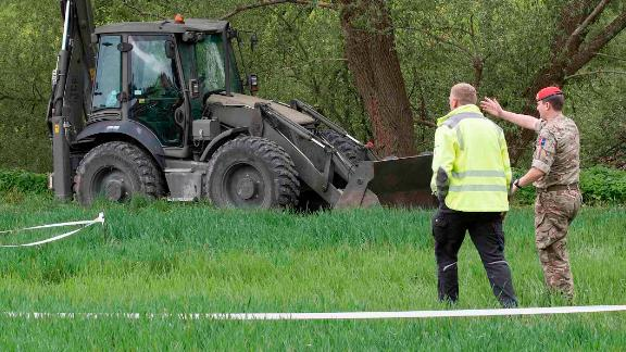 The UK's Royal Military Police are starting a search of a riverbank this week in Paderborn, Germany.