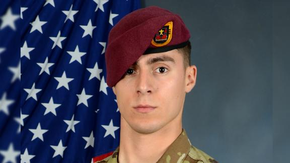 Spc. Gabriel D. Conde, of Colorado, was killed in combat last week.