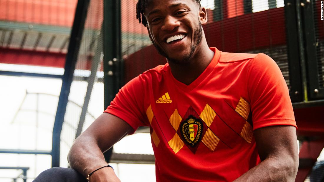 For Belgium, Adidas has revisited a classic from the European Championships of 1984, bringing the distinctive argyle-print chest pattern into a new era.