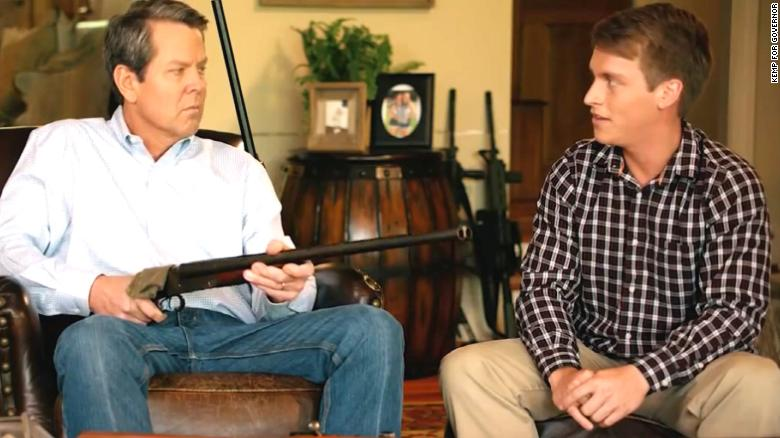 GOP candidate aims gun at teen in campaign ad