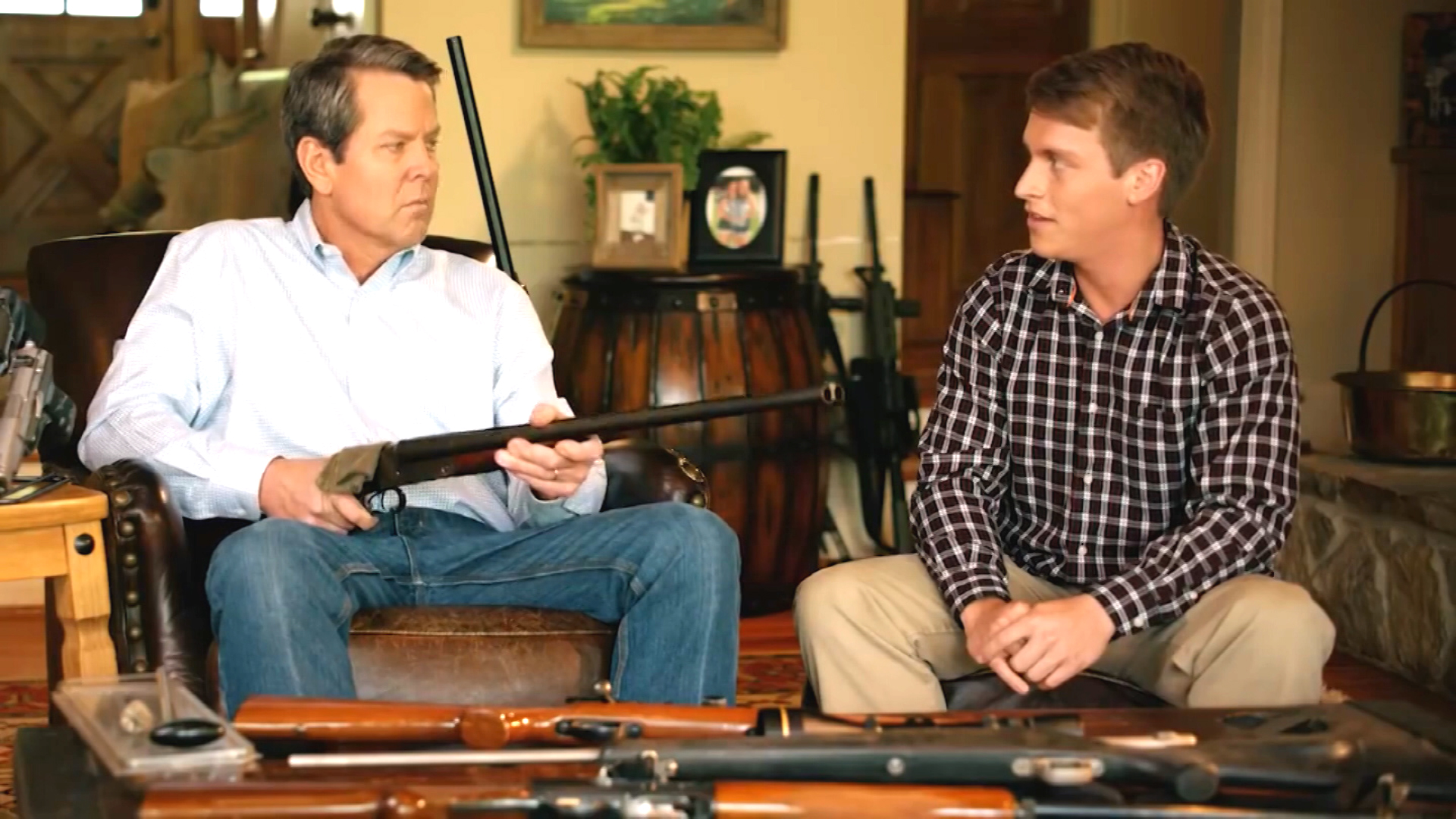 GOP candidate aims gun at teen in campaign ad - CNN Video