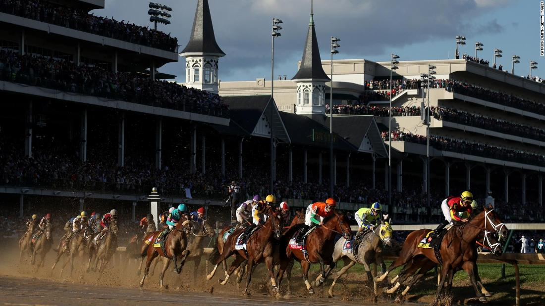 Kentucky Derby will be postponed until September, reports say