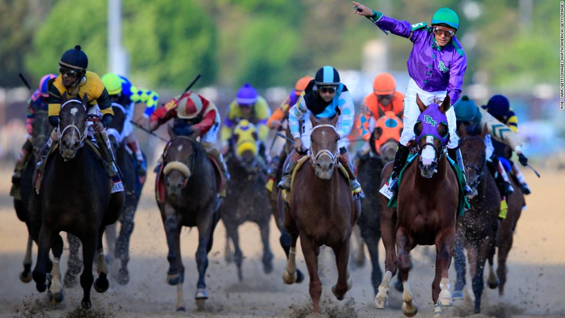 It also meant Espinoza secured back-to-back victories after winning the 140th edition on California Chrome.