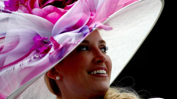 The hats are spectacular and rival the best Royal Ascot has to offer.