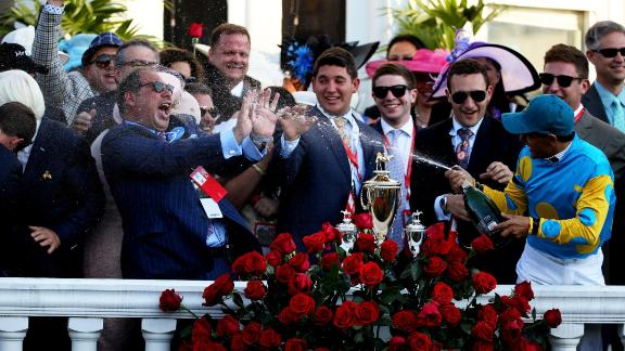 In 2015, jockey Victor Espinoza rode American Pharoah to victory -- his first win on the way to completing the Triple Crown.