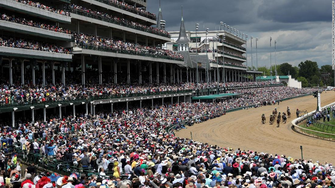 "More than 150,000 racegoers packed out Churchill Downs in Louisville for last year's <a href=""https://edition.cnn.com/2013/09/28/us/kentucky-derby-fast-facts/index.html"">Kentucky Derby</a>, one of the best-loved events in the racing calendar."