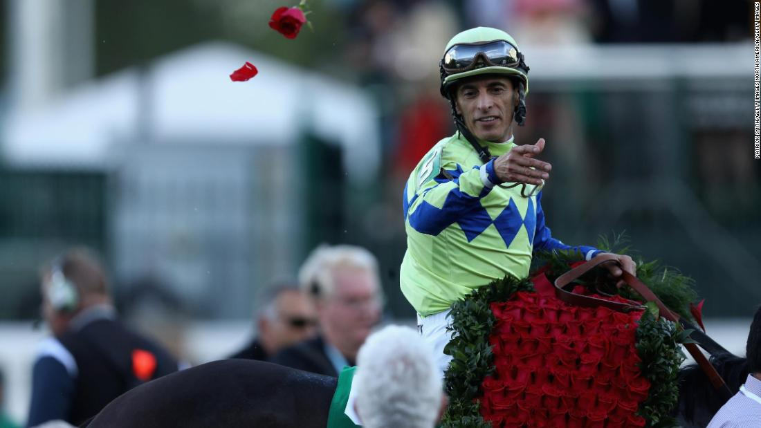 "Always Dreaming, ridden by jockey John Velazquez, triumphed in<a href=""https://edition.cnn.com/2017/05/06/us/kentucky-derby/index.html""> last year's race</a>, which is also dubbed the ""Run for the Roses"" because of the garland of 554 roses draped over the winner."