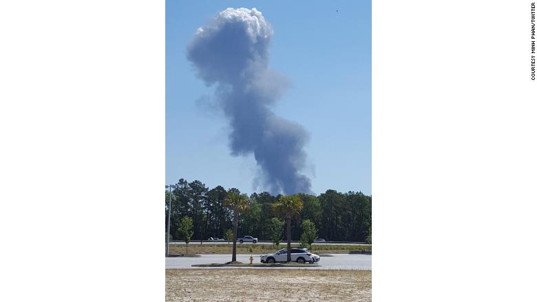 SAVANNAH, Ga ) JUST IN: Emergency crews are responding to a
