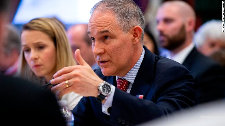 Pruitt asked for 24/7 security immediately, despite claims