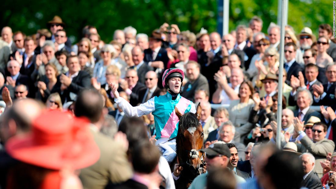 The great Frankel, ridden by Tom Queally, was the runaway 2,000 Guineas winner in 2011 during his 14-win unbeaten career.