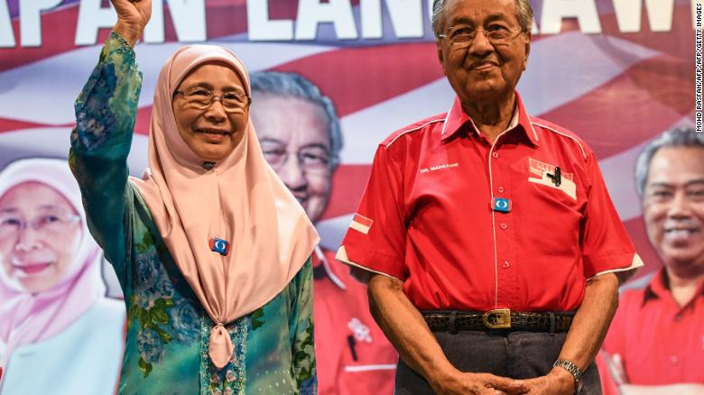 Image result for mahathir and anwar ibrahim