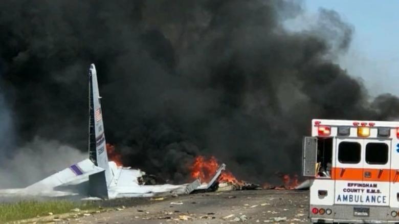 Crash Madison Plan State Street >> C130 Crash In Savannah Georgia 9 Killed On Military Plane Cnn