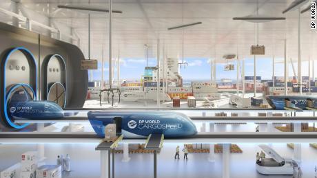 Dp World Cargosd A Collaboration Between Virgin Hyperloop One And Supply Chain Firm