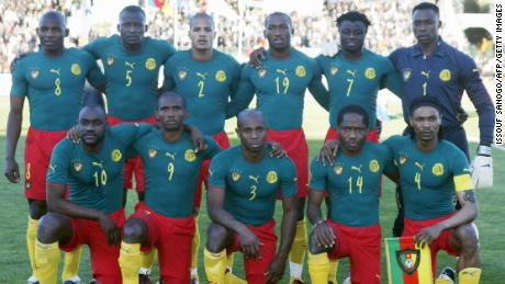 Puma's Cameroon full body suit for the 2004 African Cup of Nations was banned by FIFA for not following its regulation guide.
