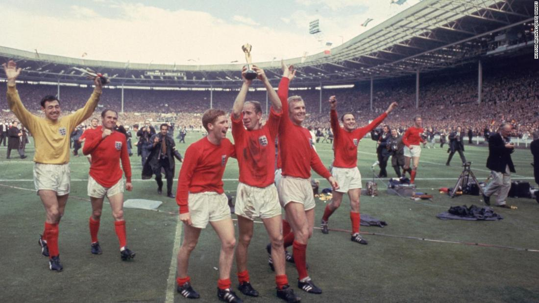 England famously wore its red away kit when it won the 1966 World Cup against West Germany. The shirt has continued to influence the designs ever since.