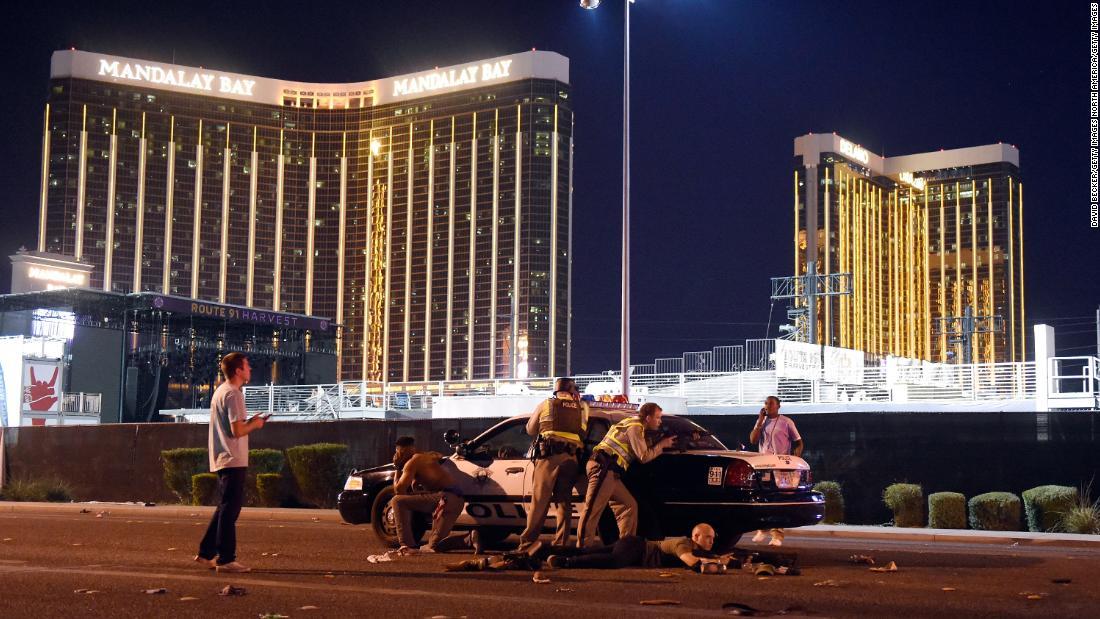 Las Vegas police will soon release bodycam footage from killer's hotel suite - CNN