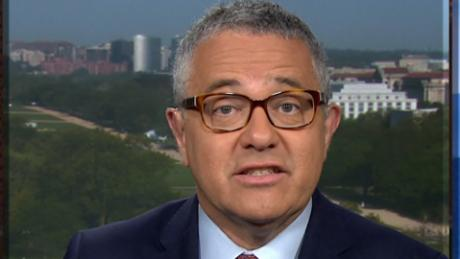 Toobin: Trump team lying about Stormy hush money