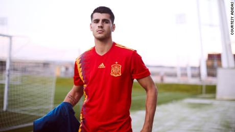 Adidas have redesigned Spain's 1994 World Cup kit for this year's competition in Russia.