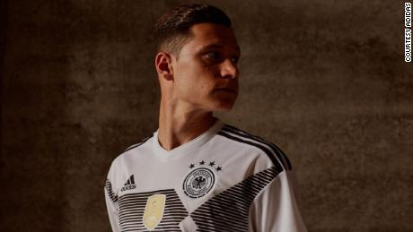 Adidas has redesigned Germany's kit for this year's World Cup in Russia -- this time in monochrome.