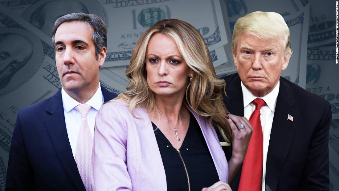 Trump team's repeated lies on Stormy Daniels - CNN Video