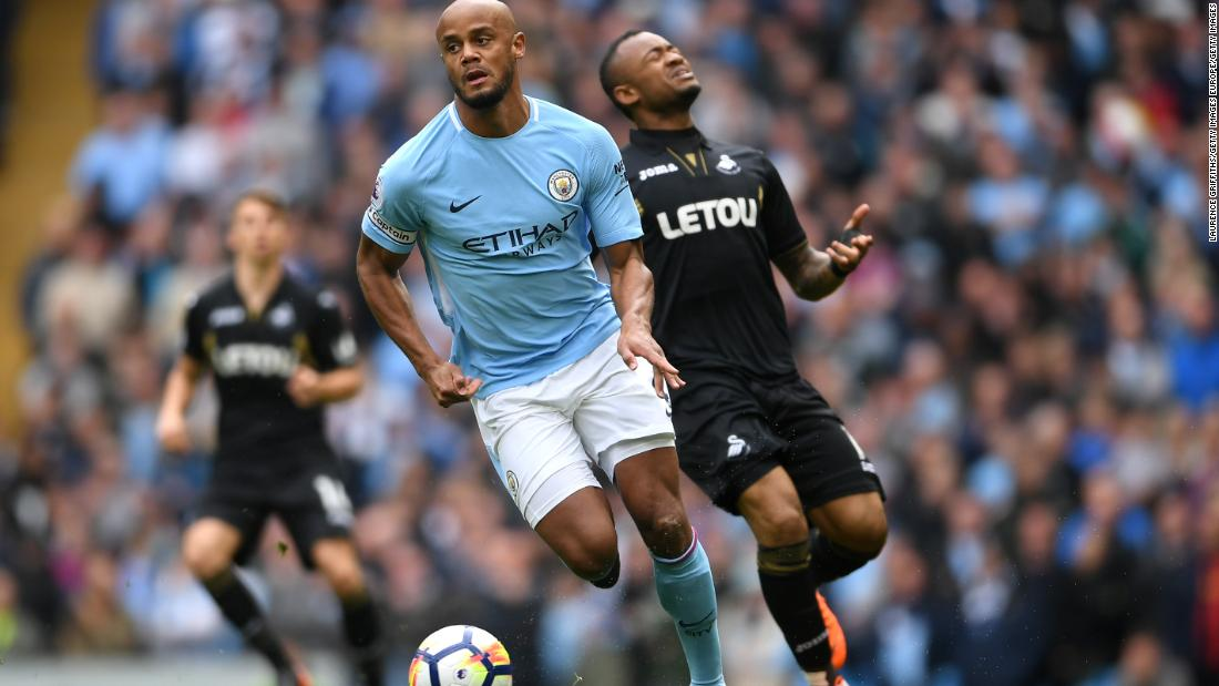 Vincent Kompany to leave Manchester City