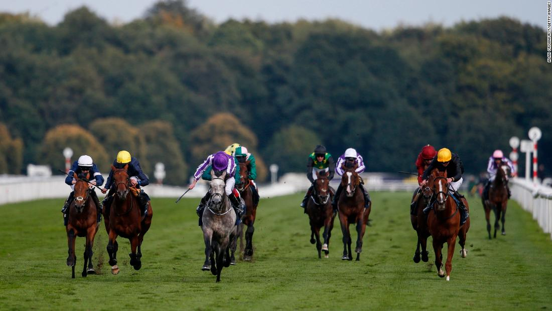 The St. Leger, first raced in 1776, is the oldest of the five Classics and takes place at Doncaster in the north of England in September. It's also the longest of the Classics at a mile-and-three-quarters. Ryan Moore rode the colt Capri (center) to victory for O'Brien last year.
