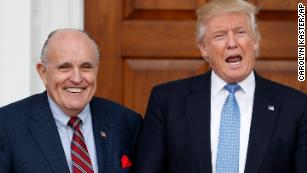 Giuliani media blitz, legal team's reshuffle hint at new Trump strategy