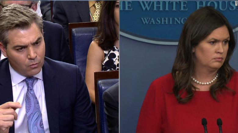 Acosta to Sanders: Were you lying or in the dark?