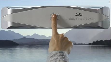 Ford smart window lets the blind feel the view
