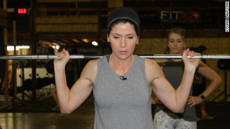 Kristi Noem found the gym a good alternative to bars when it came to meeting colleagues and discussing legislation.