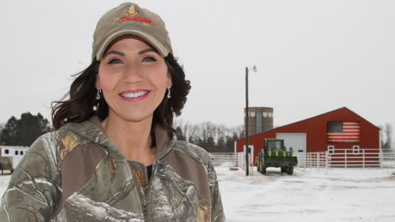 Noem was born, raised and still lives in Hamlin County, a rural area of South Dakota.