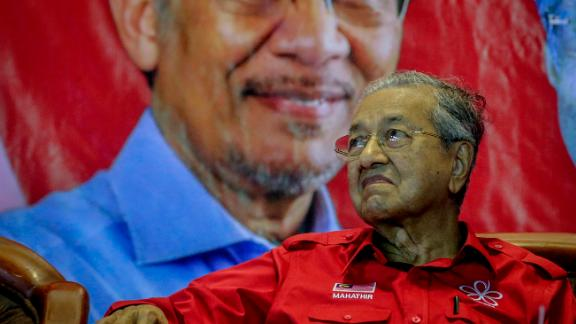Prime Minister Mahathir Mohamad was one of the first people investigated under the anti-fake news law.
