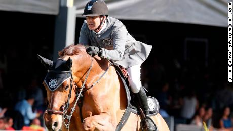 GCL of Mexico City - Round 1 - Team Madrid in Motion - Eric Van Der Vleuten (NED) on Wunschkind 19  - Mexico City, Campo Marte  - 23 March 2018  - ph.Stefano Grasso/GCL