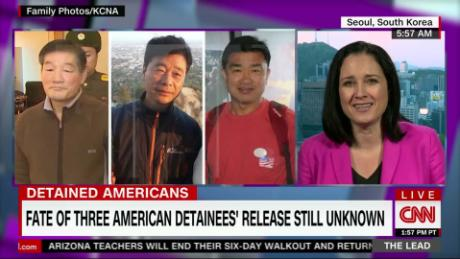 WH: can't confirm if NK will release 3 American detainees
