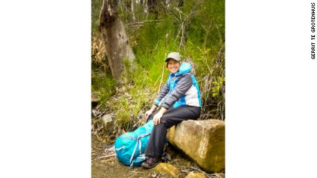 Mandy Johnson makes sure to cover up when she's bushwalking, gardening or at the beach.