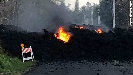 Lava has threatened communities on the Big Island before