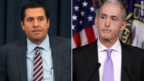Devin Nunes and Trey Gowdy