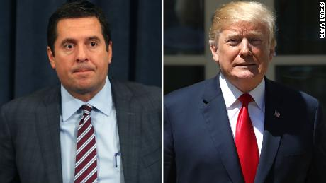 Rep. Devin Nunes and President Donald Trump
