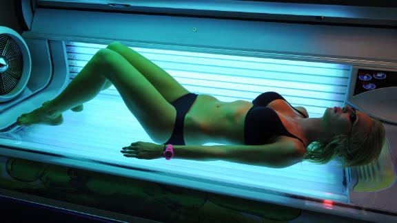Some people use sunbeds at least once a week to maintain their tan, believing this is safer than being out in the harsh Australian sun.