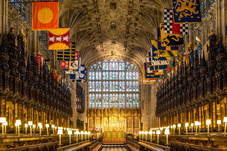 St Georges Chapel Windsor The Historic Royal Wedding Venue Cnn