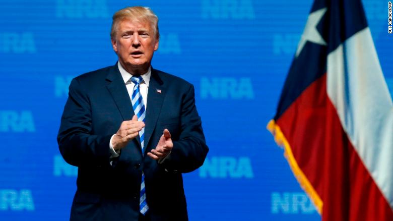 Pres. Trump's complex relationship with guns