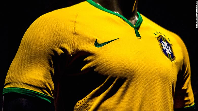 The yellow shirt of the Brazil national team is argaubly the most distinctive in world football.