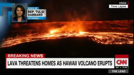 Evacuations ordered as volcano erupts in Hawaii