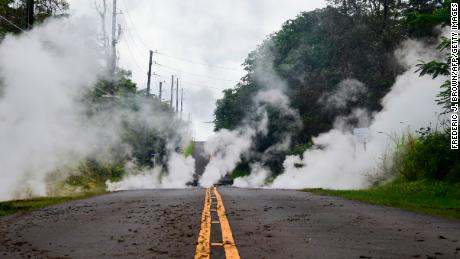 Big Island under threat of lava, earthquakes and gas