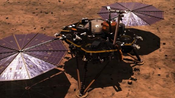 NASA's InSight lander captures 1st sounds of Martian wind
