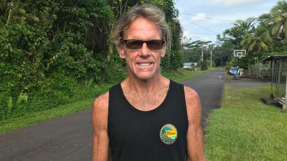 Steve Gebbie is among the hundreds of people left their homes in Big Island neighborhoods after the Kilauea volcano erupted Thursday. A carpenter, Gebbie believes the home he built is gone, his life changed forever.