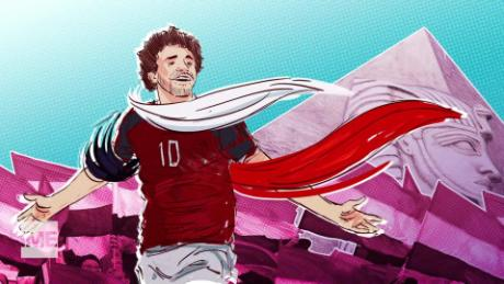 The superstar carrying the hopes of Egypt