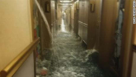 Carnival Cruise Ship Floods In The Caribbean