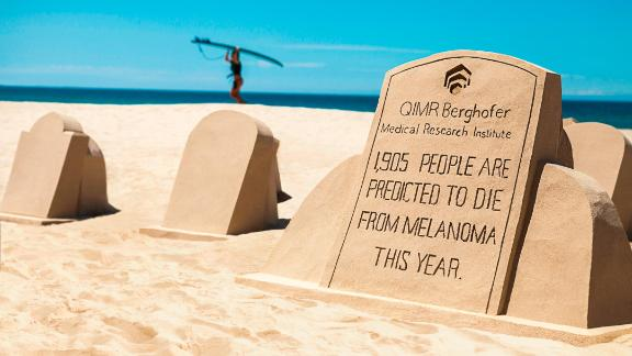 Awareness is being raised by QIMR Berghofer Medical Research Institue in Queensland.