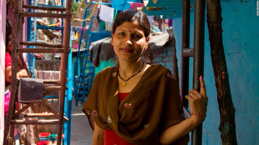 Lalita Gola, 39, housewife in Laxmi Nagar slum